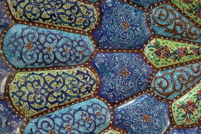 В Иране можно встретить настоящего мастера! Эта роспись тарелки увеличена приблизительно вдвое. Автор фото Завирюхина Мария (Масяня)